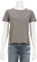 Amo Heather Gray Twist Tee