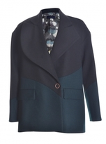 Eudon Choi KRAMER BLAZER in Black & Green