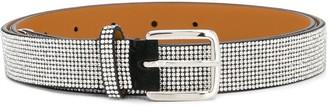 Ermanno Scervino Stud-Embellished Leather Belt