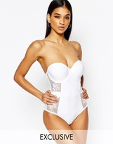 Wolfwhistle Wolf & Whistle Bustier Lace Swimsuit B/C - E/F Cup