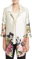 Caroline Rose Flower Girl Open-Front Party Jacket
