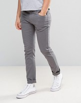 Farah Slim Fit Pants in Mid Gray