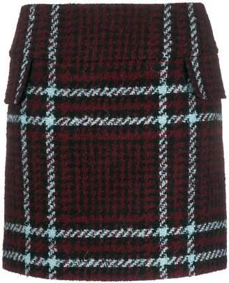Mulberry tartan pattern skirt