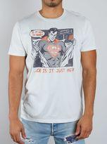 Junk Food Clothing Superman Tee-salt-m