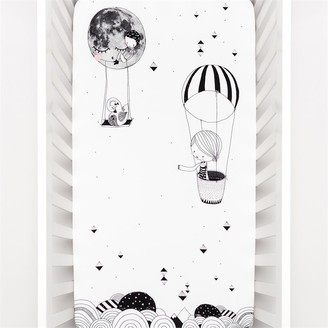 Rookie Humans Frieda & The Balloon Organic Fitted Crib