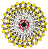 Givenchy crystal embellished brooch