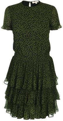 MICHAEL Michael Kors Tiered Mini Dress