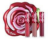 Lime Crime Velve-tins Liquid Matte Lipstick Mini Velvetine Trios (Red Rose)