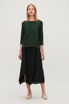 Cos Textured Knit Jumper