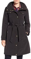 Ellen Tracy Women's Water Repellent Hooded Jacket