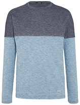 Denham Slice Long Sleeve T-shirt, Indigo