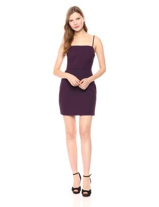 BCBGeneration Women's Cocktail CAMI Mini Woven Dress