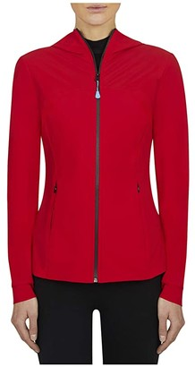Save The Duck Rety X Hoodie (Tango Red) Women's Clothing