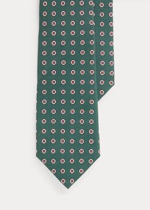 Ralph Lauren Neat Silk Narrow Tie