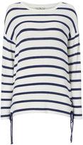 Tu clothing Navy Nautical Stripe Jumper