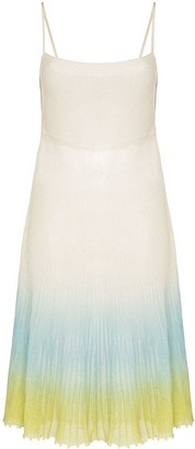 Jacquemus La Robe Helado Ombre Dress