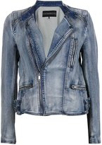 DECJUBA Zanti Denim Biker Jacket
