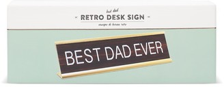 Indigo Best Dad Ever Desk Sign