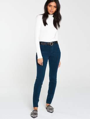 Very Cord Skinny Trouser - Teal