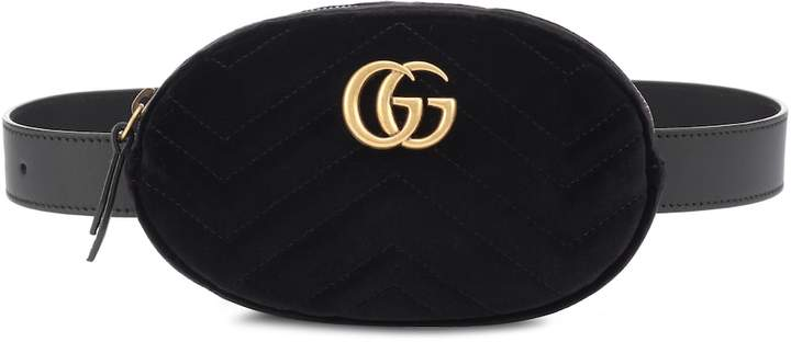 52e8333a2539 Gucci Marmont Belt Bag - ShopStyle