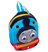 PJX New Kids Cute Train Plush Shoulder Bag Kindergarten Backpack for Children