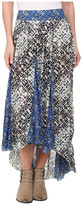 Free People Printed Rayon Gauze Show You Off Skirt