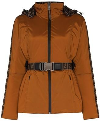 Fendi Reversible Belted Padded Jacket