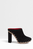 Proenza Schouler Botty Suede Clogs
