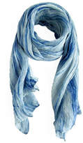 Lua Watercolor Silk Scarf