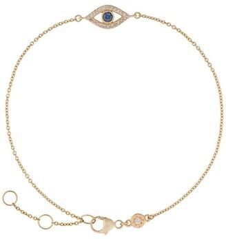 Astley Clarke 14kt yellow gold Evil Eye Biography diamond bracelet