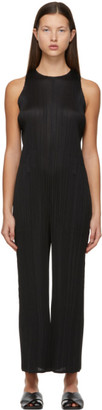 Pleats Please Issey Miyake Black Monthly Colors December Jumpsuit