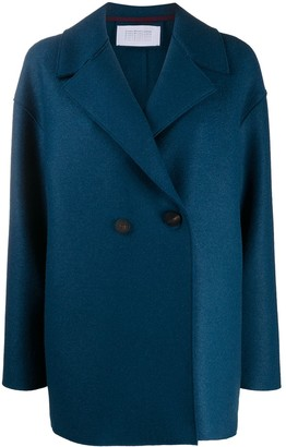 Harris Wharf London Drop-Shoulder Double Breasted Jacket