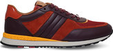 Bally Ascar Suede And Smooth Leather Trainers