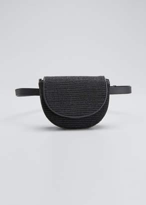 Brunello Cucinelli Textured Leather Shoulder/Belt Bag