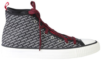 Lanvin Logo High Top Sneakers