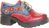 Dromedaris Women's Kiara Denim Lug Sole Oxford Size 38 M