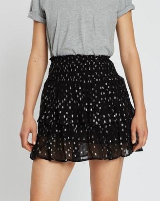 Miss Selfridge Lurex Dobby Skirt