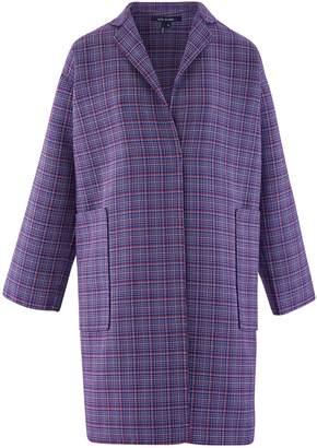 Sofie D'hoore Check wool coat
