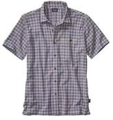 Patagonia Men's Short-Sleeved A/C Shirt - Little Sur: Channel Blue Button Down Shirts