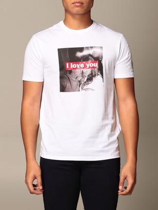 Armani Collezioni Armani Exchange T-shirt Armani Exchange T-shirt With I Love You Print