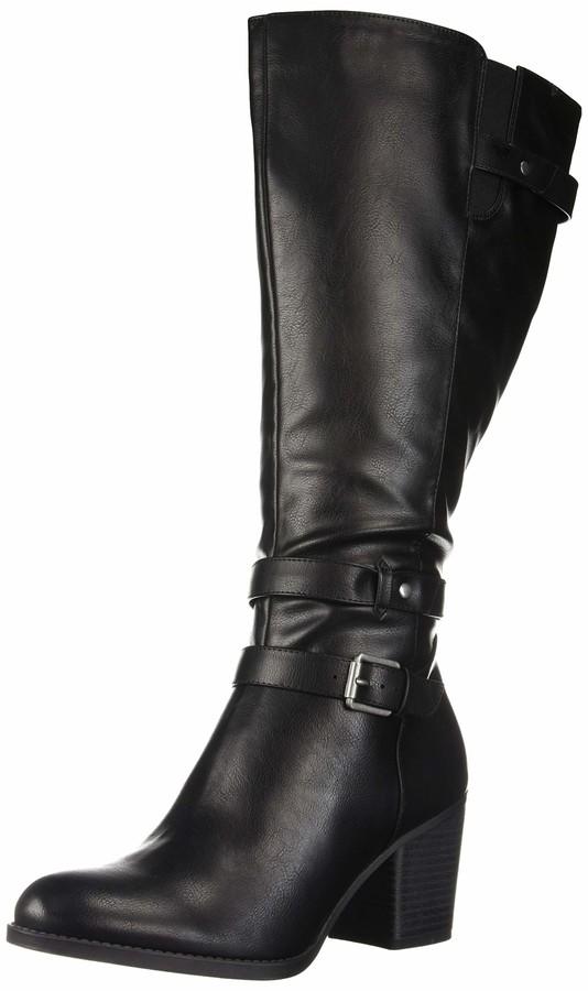 SOUL Naturalizer Women/'s Taliah Mid Calf Boot 7 Wide Black
