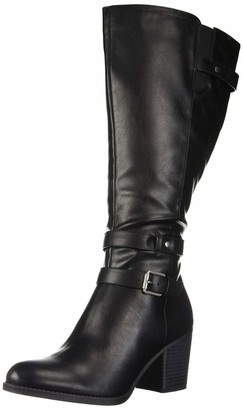 Soul Naturalizer Women's Taliah Mid Calf Boot Black wc 6.5 M US