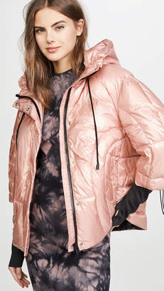 ADD Oversized Hooded Down Jacket