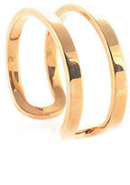 Calvin Klein Rose Gold Plated Cuff Bracelet