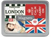 Cavallini & Co. London 24-Assorted Magnets