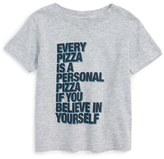 Kid Dangerous Infant 'Personal Pizza' T-Shirt