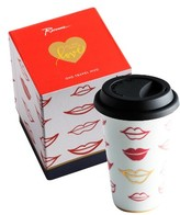 Rosanna Kisses Porcelain Travel Mug
