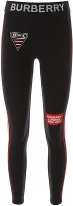 Burberry Blies Leggings With Logo