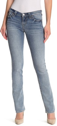 True Religion Bille Straight Leg Jeans