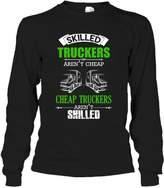Crazy Love Shirts Trucker Beautiful Tee Shirt - I'm A Trucker T-Shirt Best Gift For Friends Long Sleeve (XL,Black)